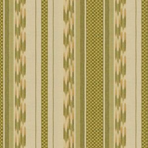 Lee Jofa Alexandra Ikat Leaf Fabric