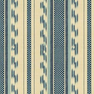 Lee Jofa Alexandra Ikat Blue Fabric