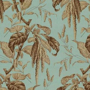 Lee Jofa Camille Sky Brown Fabric