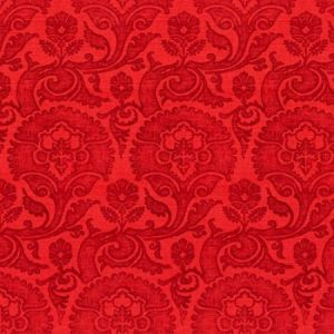 Groundworks Bargello Scarlet Fabric