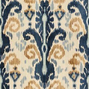 Lee Jofa Pardah Velvet Blue Fabric