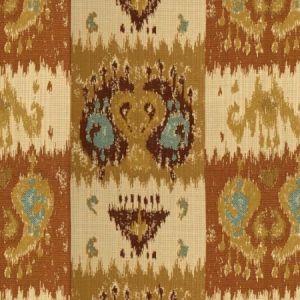 Lee Jofa Izmir Ikat Cumin Spice Fabric