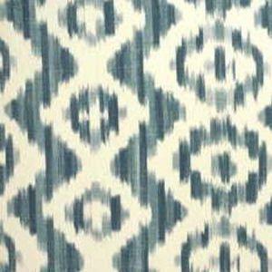 Lee Jofa Ikat De Lin Blue Fabric