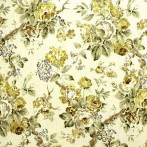 Lee Jofa Garden Roses Lime Leaf Fabric