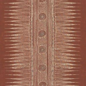 Lee Jofa Indian Zag Paprika Fabric