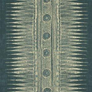 Lee Jofa Indian Zag Indigo Fabric