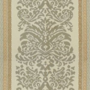 Lee Jofa Garnier Damask Grey Beige Fabric