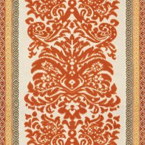 Lee Jofa Garnier Damask Spice Gold Fabric
