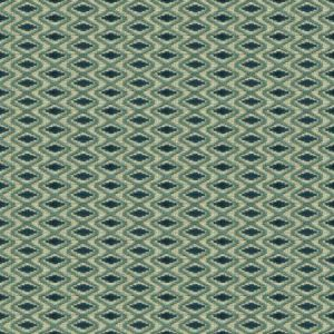 Lee Jofa Otto Trellis Lagoon Teal Fabric