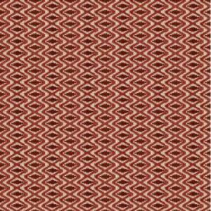 Lee Jofa Otto Trellis Claret Red Fabric