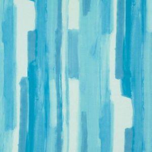 Schumacher Watercolor Aqua Fabric
