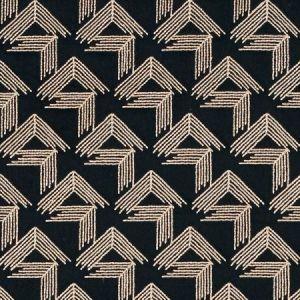 Schumacher V Step Black Fabric