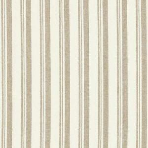Schumacher Capri Beige White Fabric