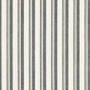 Schumacher Capri Black White Fabric
