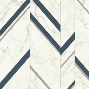 York MM1804 Marble Chevron Wallpaper