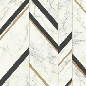 York MM1805 Marble Chevron Wallpaper