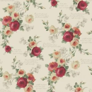 York MH1526 Heirloom Rose Wallpaper