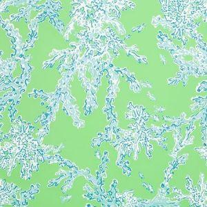 Lee Jofa Corally Minty Pool P2016102-353 Wallpaper