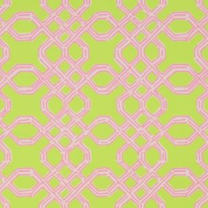 Lee Jofa Well Connected Pink Green P2016104 73 Wallpaper