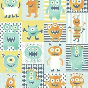 York WI0192 Monster Party Wallpapers