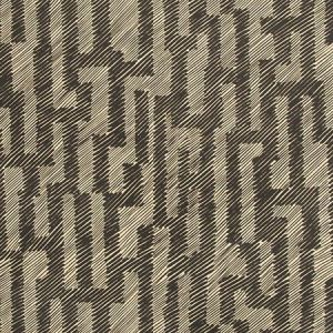 Groundworks Verge Paper Ebony Ivory GWP-3702-18 Wallpaper