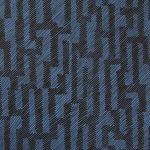 Groundworks Verge Paper Ebony Cobalt GWP-3702-58 Wallpaper