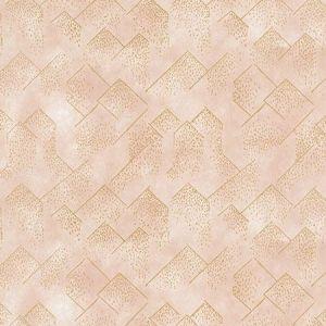 Groundworks Brink Paper Blush Gold GWP-3703-174 Wallpaper