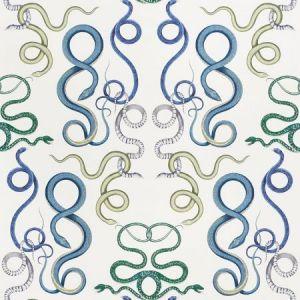 5009460 Giove Emerald Sapphire Schumacher Wallpaper