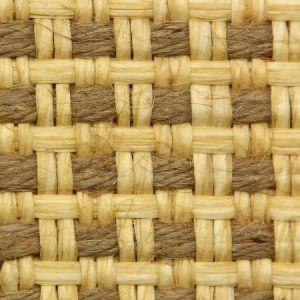 Astek ED151 Grasscloth Beige and Brown Paper Weave Wallpaper