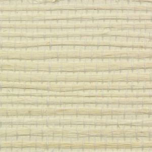 Astek ED155 Grasscloth Cream on Cream Jute Fine Wallpaper