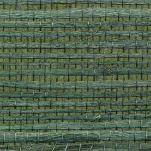 Astek ED162 Grasscloth Sea Green Jute Wallpaper