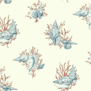 York AF2010 Shell Toile Wallpapers