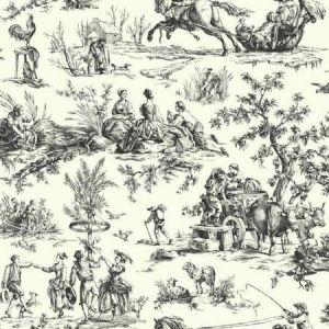 York AF2002 Seasons Toile Wallpapers