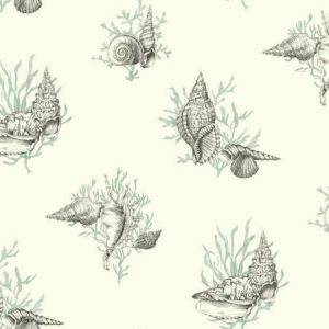 York AF2011 Shell Toile Wallpapers