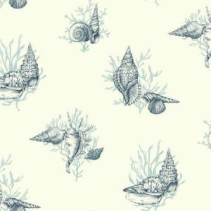 York AF2012 Shell Toile Wallpapers