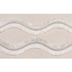 74331 Ogee Embroidered Tape Blush Schumacher Trim