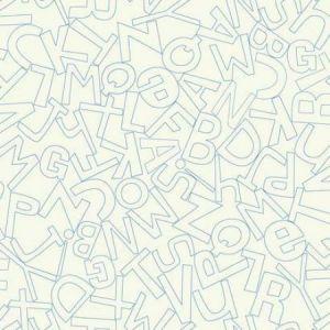 WK6962 Alphabet Soup York Wallpaper