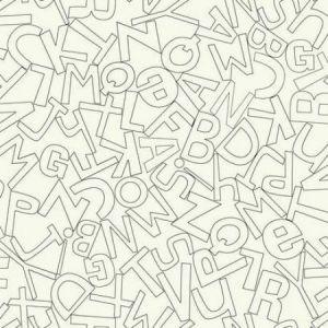 WK6963 Alphabet Soup York Wallpaper