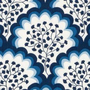 DE42673-54 ANGELINA Sapphire Duralee Fabric