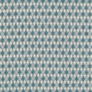 DU16372-23 TOCHA Peacock Duralee Fabric