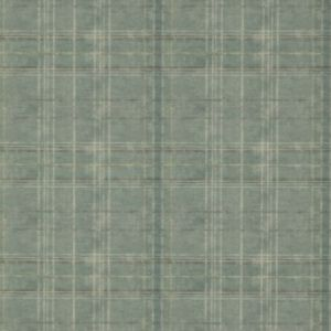 FG086-R11 Shetland Plaid Teal Mulberry Home Wallpaper