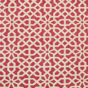 Clarence House Keystone Alizarin Fabric