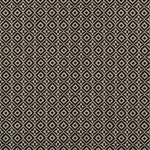 35403-816 ATTRIBUTE GRID Nero Kravet Fabric