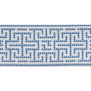 75950 Maze Tape Blue Schumacher Trim