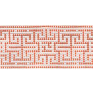 75953 Maze Tape Orange Schumacher Trim