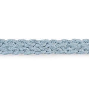 76270 Braided Linen Tape Narrow Sky Schumacher Trim
