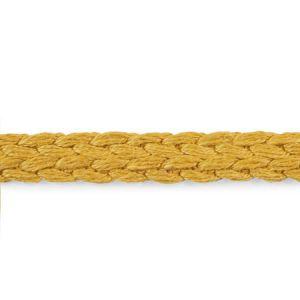 76273 Braided Linen Tape Narrow Gold Schumacher Trim