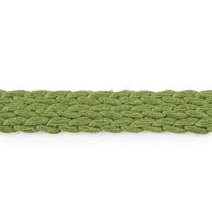 76281 Braided Linen Tape Leaf Schumacher Trim