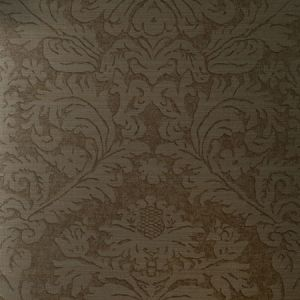 90020W MANDERLEY S Walnut Shell 02 Vervain Wallpaper