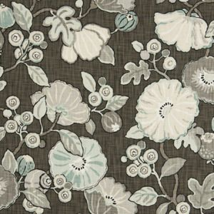 9466201 CONCESSION FLORAL Haze Fabricut Fabric